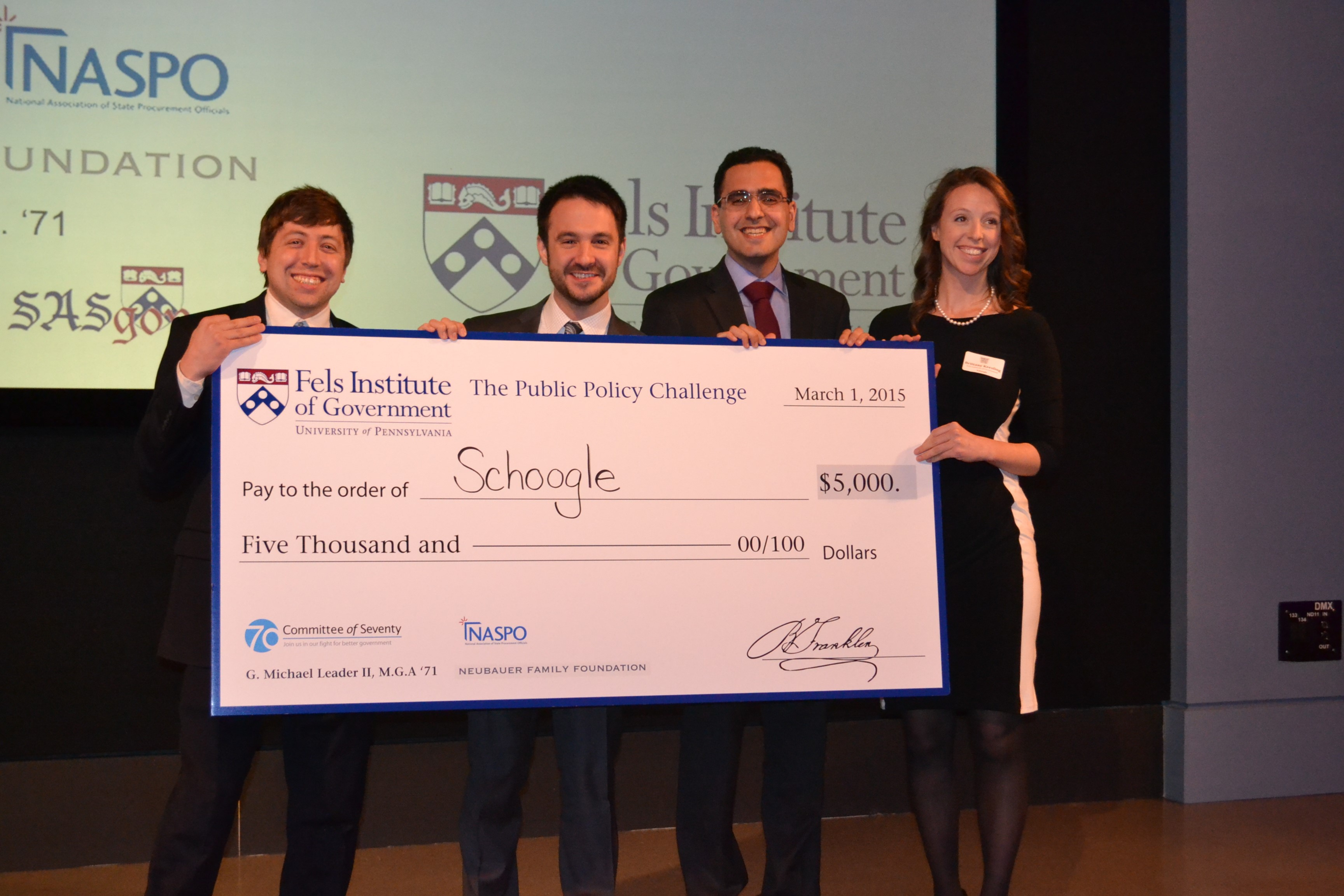 2015 Public Policy Challenge Winner SmartTrack Finds Success